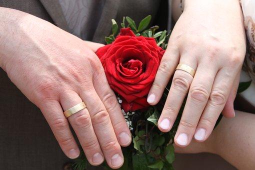 Rose, Ring, Wedding