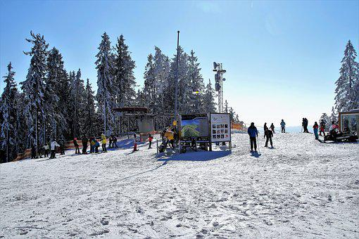 Ski Areal, Skiing, Winter, Winter Sport, Ski Resort