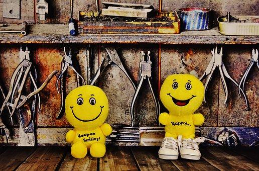 Smilies, Workshop, Work, Fun, Happy, Work Funny, Hobby