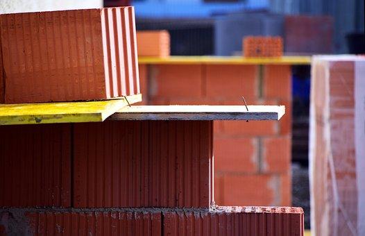 Site, Housebuilding, Construction Work, Build, Brick