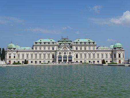 Vienna, Belvedere, Wien, Schloss, Building, Austria