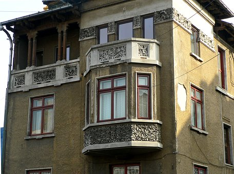 House, Building, Architecture, Bucharest, Romania, Home
