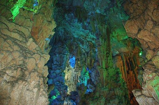 China, Cave, Travel, Tourism