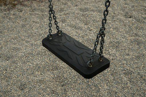 Swing, Playground, Play, Game Device