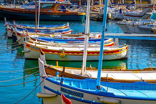 Fishing Boat, Small Boat, Barque, Harbor, Cassis