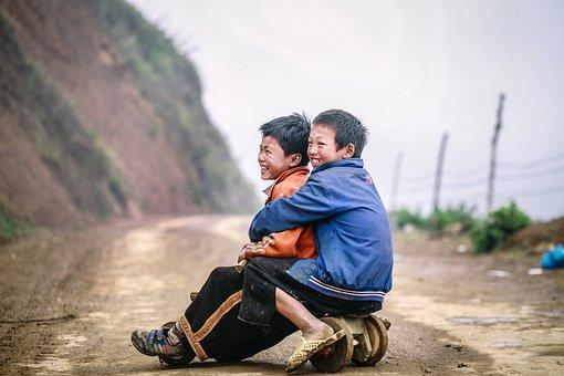 Children Moc Chau, Moc Chau Life, I Waved Son La