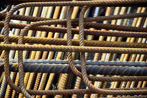Iron, Steel For Construction, Rebar, Building Material