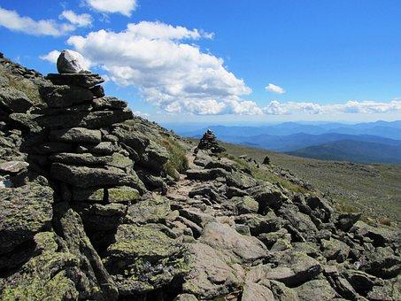 Landscape, Mount Washington, Mountain, New Hampshire