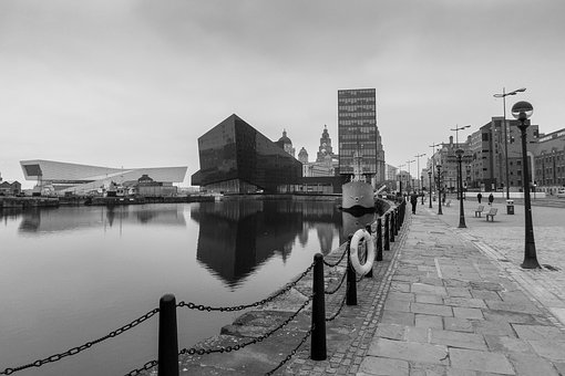 Liverpool, Port, Canal Street Maritime, Cloudiness