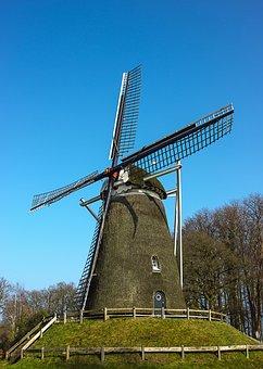 Mill, Netherlands, Dutch Mill, Nature, Dutch Landscape