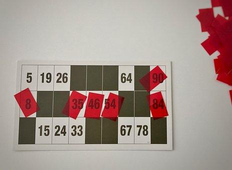 Lotto, Red, Playing Card, Profit, Gesellschaftsspiel