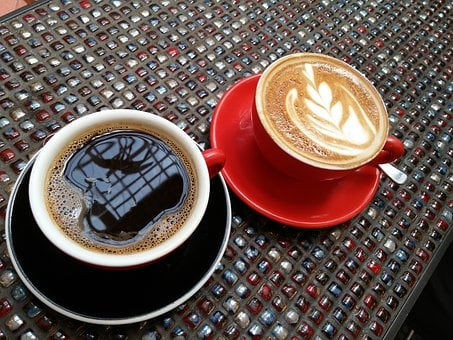 Coffee, Latte, Coffee House, Black Coffee, Red Cup