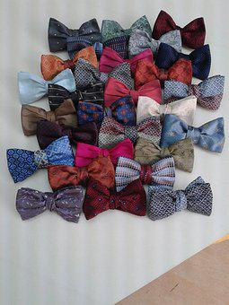 Bow Tie, Craft, Made In France, Silk Lyon, Wedding
