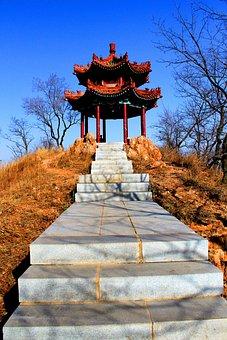 China, Asia, Pagoda, East, Asian, Culture, Nature, Sky