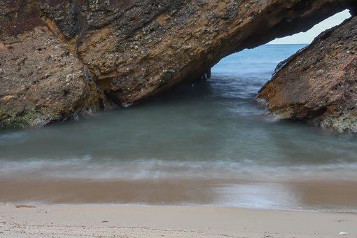 Sea, Beach, Sunrise, Ocean, Sand, Summer, Travel