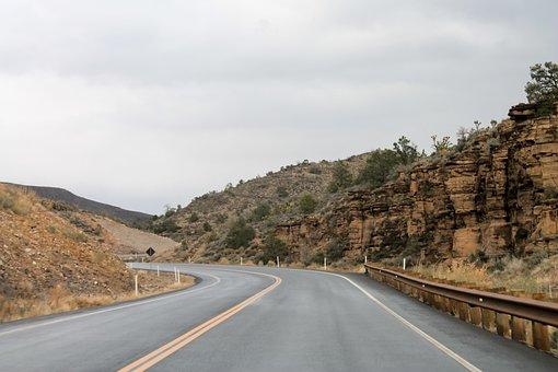 Arizona, Grang, Canyon, Desert, Usa, Vertical, America