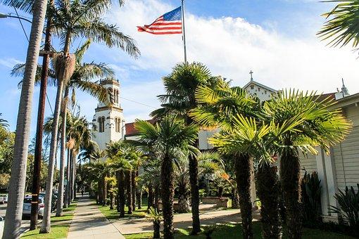 Usa, Santa Barbara, California, Barbara, Santa, America