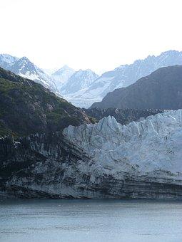 Alaska, Glacier, Bay, Nature, Landscape, Park, Water