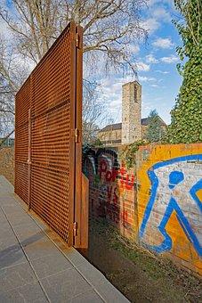 Darmstadt, Hesse, Germany, Orangery, Bessungen, Garden