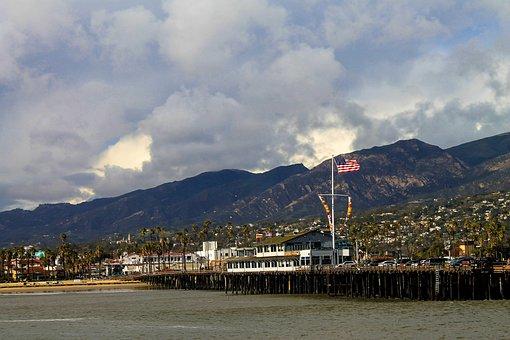 Santa Barbara, Pear, Pacific, Bay, Bcountryside, Cactus