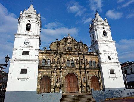 Panama City, Panama, Casco Viejo, Cathedral, Church