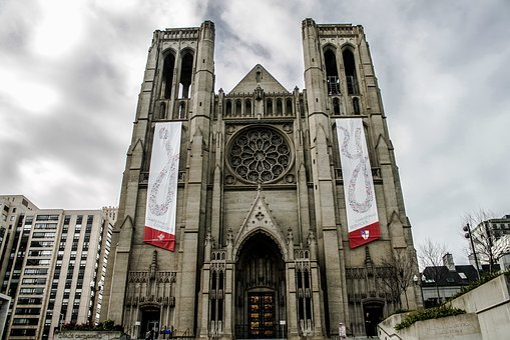 Church, Catholic, Sf, California, San Francisco