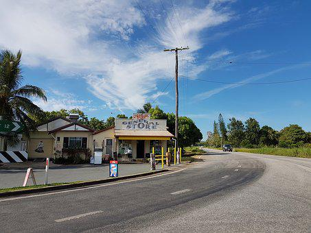Store, Australia, Country, Town, Building, Old, Charm