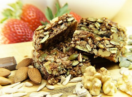 Muesli, Granola Bars, Cereals, Nuts, Chocolate