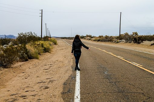 Road, Usa, California, 66, Travel, America, City