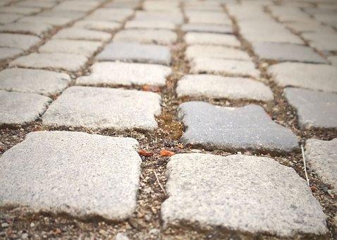 Cobblestones, Stones, Patch, Ground, Structure, Granite