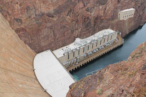 Hoover Dam, Nevada, Hoover, Dam, Power, Arizona