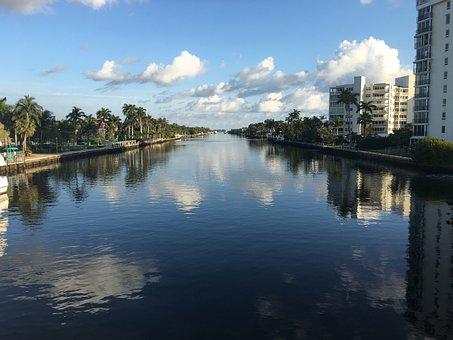 Waterway, Cloud, Sky, Waterfront, Delray Beach