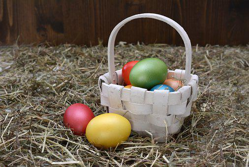 Easter Eggs, Easter Nest, Easter, Egg, Decoration
