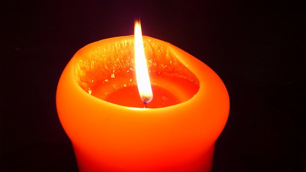 Candle, Fire, Flame, Light, Candlelight, Atmosphere