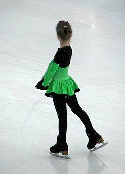 Ice, Skating, Sport, Child, Young, Girl, Skates
