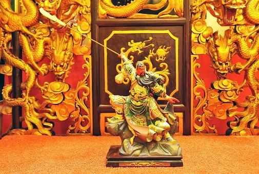 Malaysia, Sculpture, Guan Gong