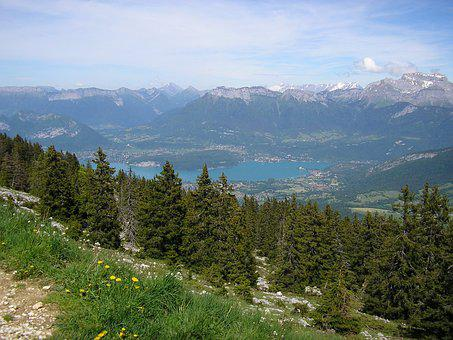Semnoz, Haute-savoie, Mountains, Summit, Hiking, Nature