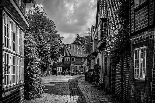 City, Lüneburg, Old Town, Truss, Historically, Romantic