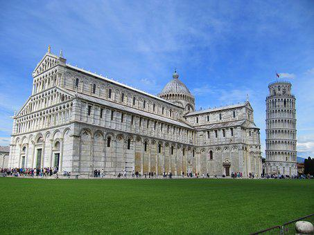 Italy, Pisa, Tower Wrong, Leaning Tower, Building