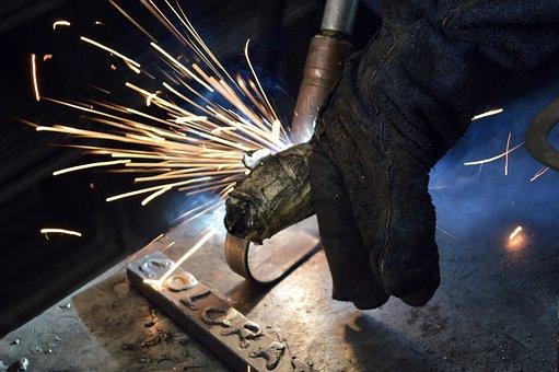 Metallurgy, Welder, Welding, Manufactures, Work, Tool