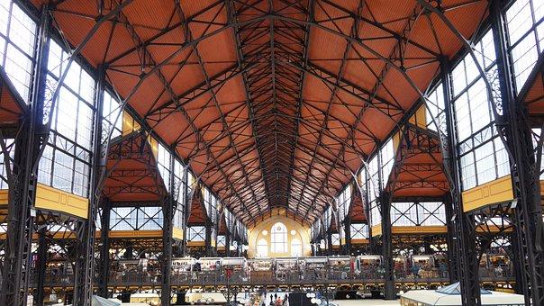 Budapest, Market Hall, Long Hall