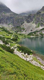 Black Pond, Tatry, Hiking Trail, Poland, Nature