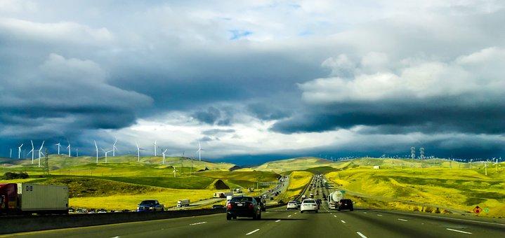 Road, California, Travel, Usa, Highway, America, Nature