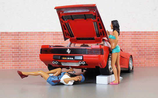 Model Car, Ferrari, Model, Auto, Oldtimer, Toys
