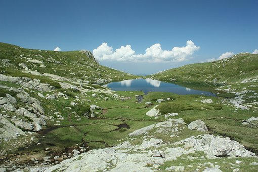 Mountain Lake, Lake Rila, Panitsata, Travel, Nature
