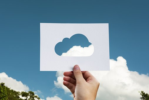 Cloud, Paper, Hand, World, Business, Save, Computing
