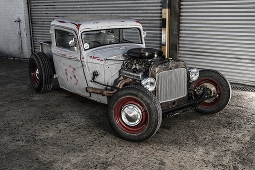 Vehicle, Rat Rod, Hot Rod, Transport, Fast, Custom, Car