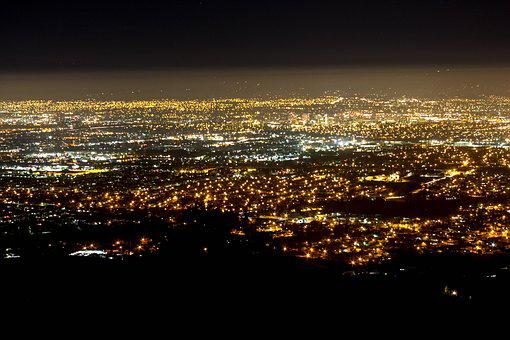 San Jose, Night, Flight, San, Jose, Vacation, City