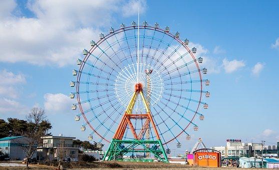Sapgyoho Amusement Park, Ferris Wheel, Sapgyocheon