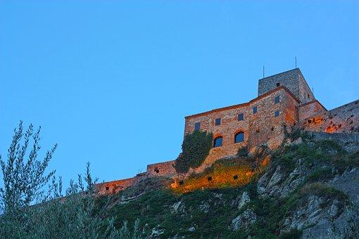 Verucchio, Valmarecchia, Castle, Hills, Sassi, Vista